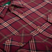 Adventure Shirt Redwine Plaid