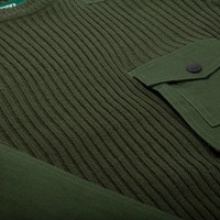 Wilderness Sweater Military Green