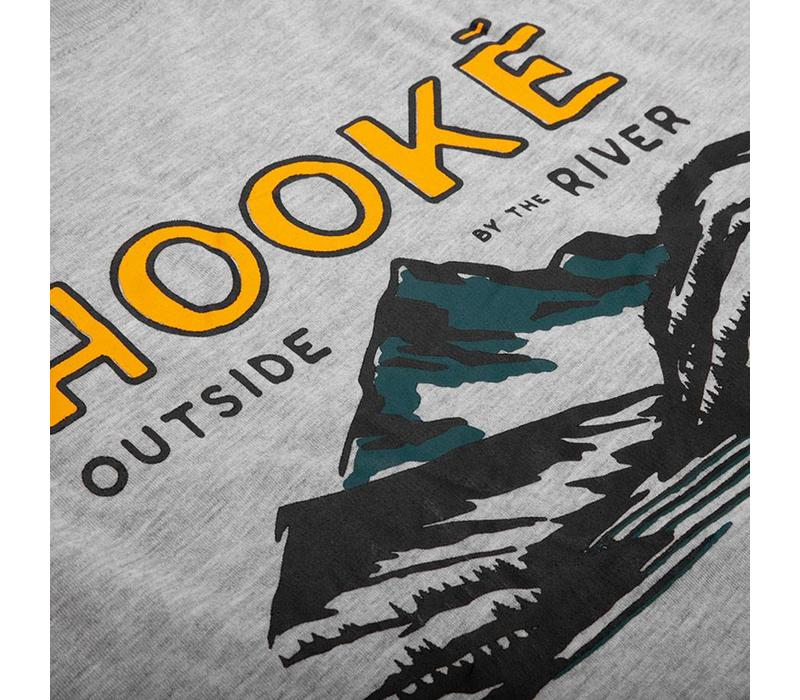 River Long Sleeve T-Shirt Heather Grey