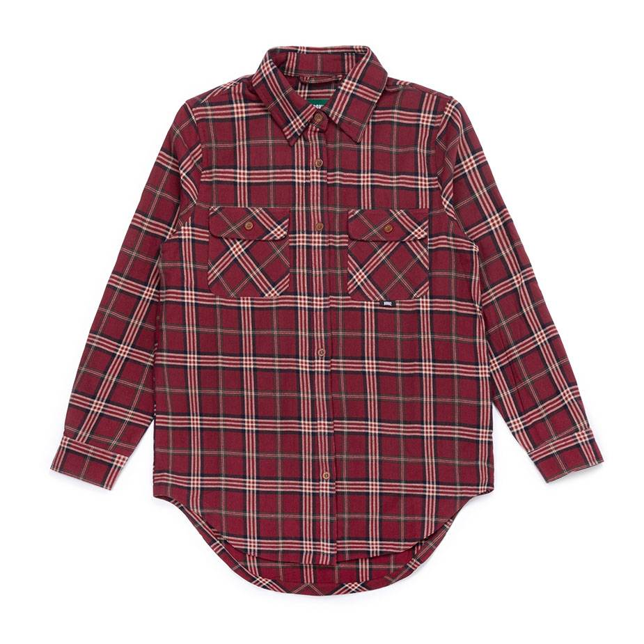 Women's Adventure Shirt Redwine