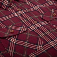 Women's Adventure Shirt Redwine Plaid