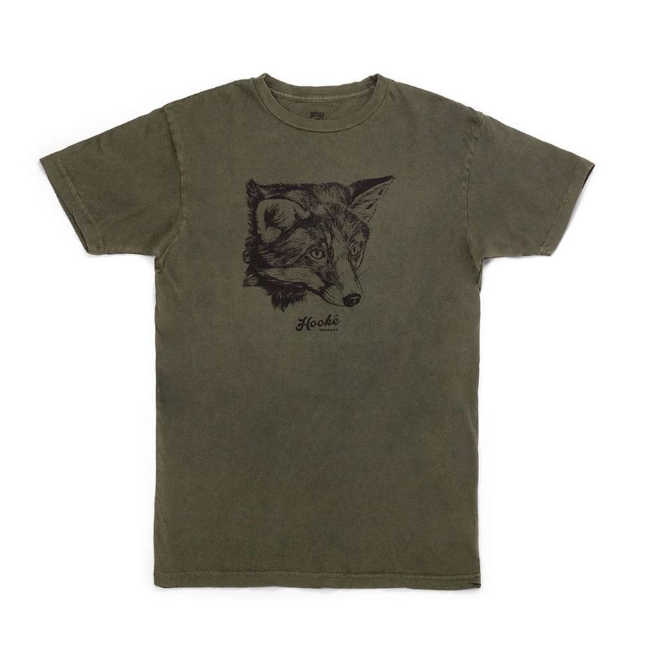 Women's Fox T-Shirt Olive