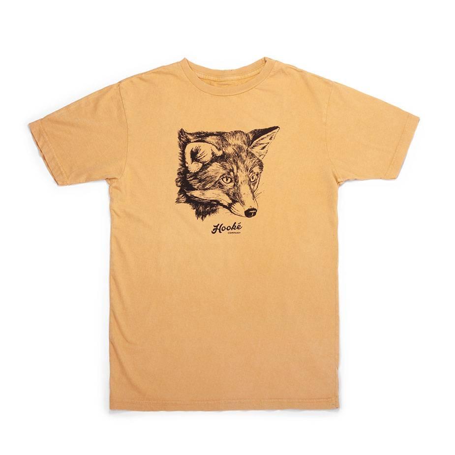 Women's Fox T-Shirt Mustard