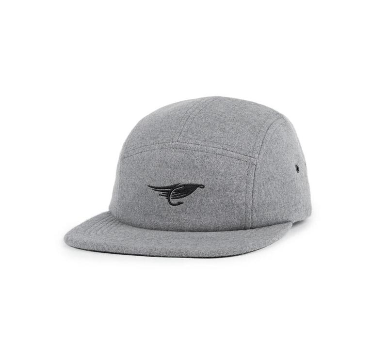 Fly Camper Hat Gris Chiné