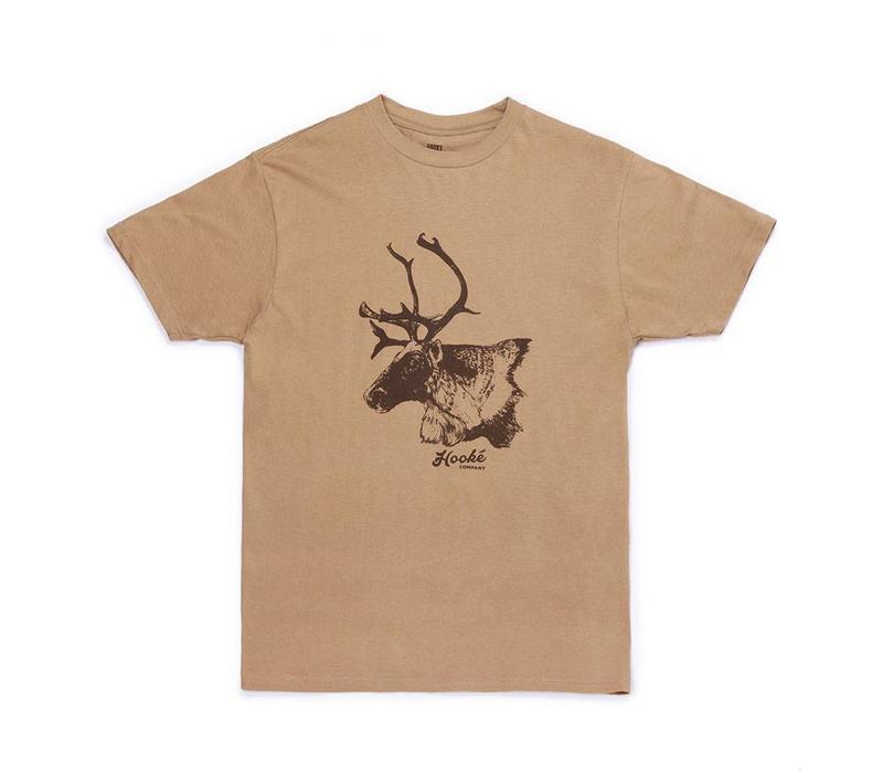 Caribou T-Shirt Camel