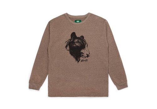 Bear Long Sleeve T-Shirt Brown