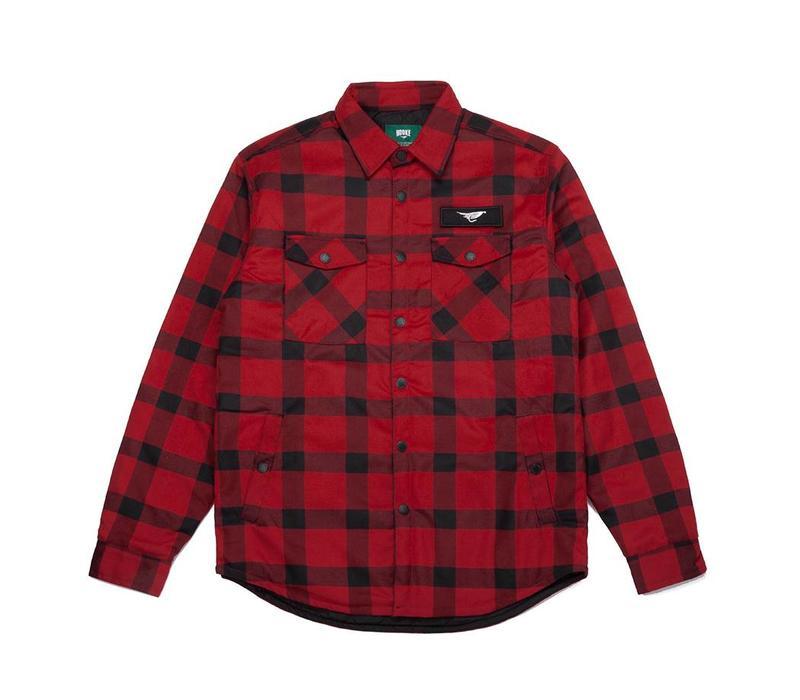 Chemise Canadienne Rouge et Noire