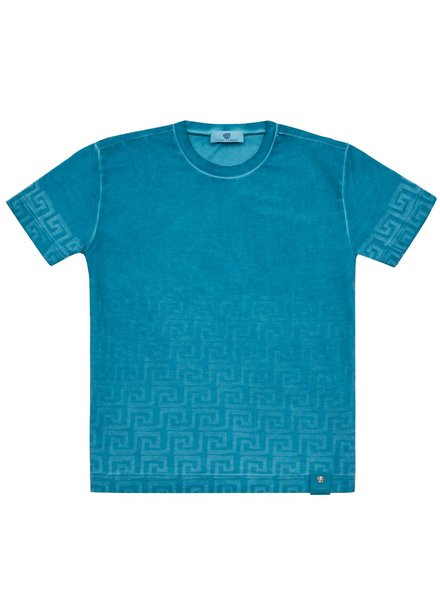 Versace Versace - T-Shirt S/S, Aqua