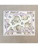 Card Card - Baby Purple