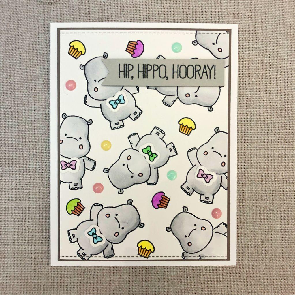 Card Card - Hip Hipo Horay