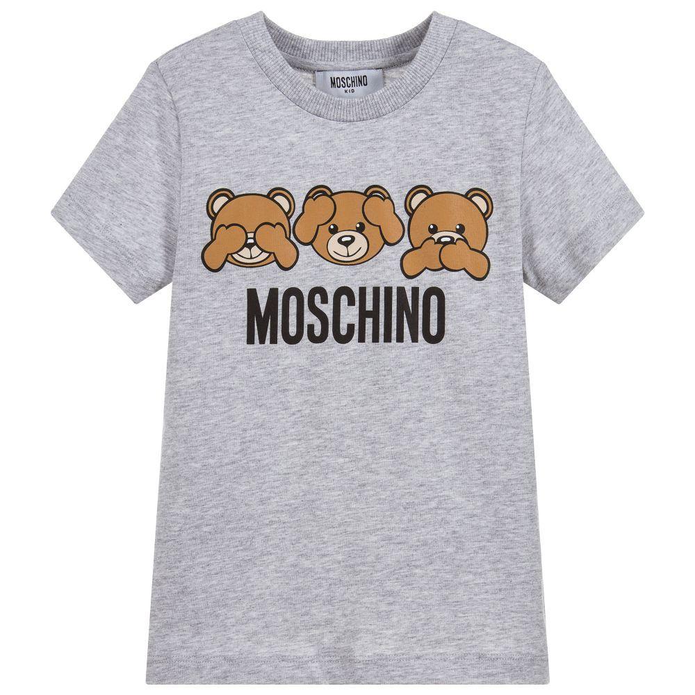 Moschino TEEN teddy bear T-shirt cGAnm9au