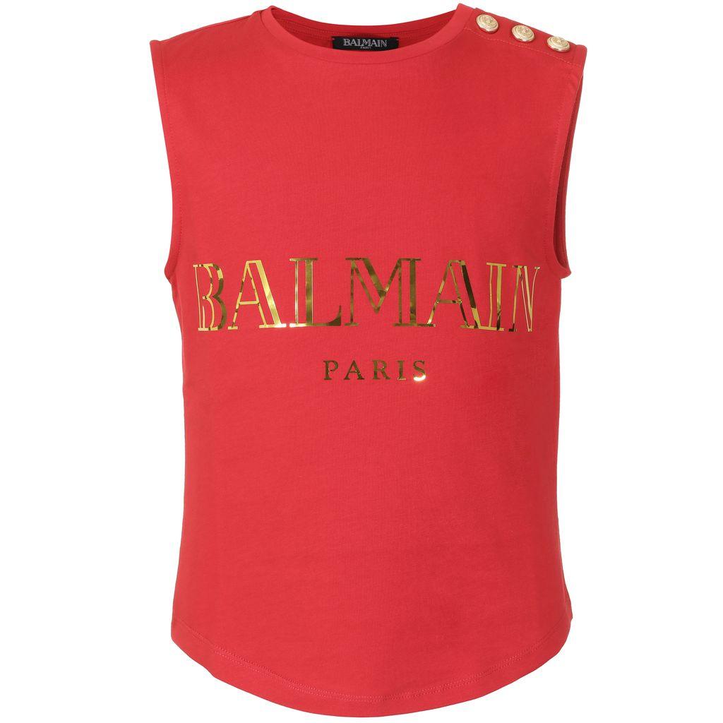 Balmain Balmain - Sleeveless Shirt