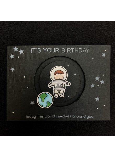 Card Card - Astronaut