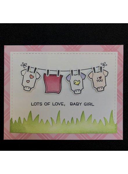 Card Card - Baby Girl