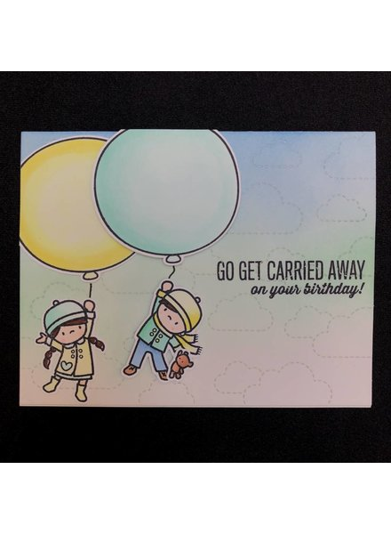 Card Card - Balloon