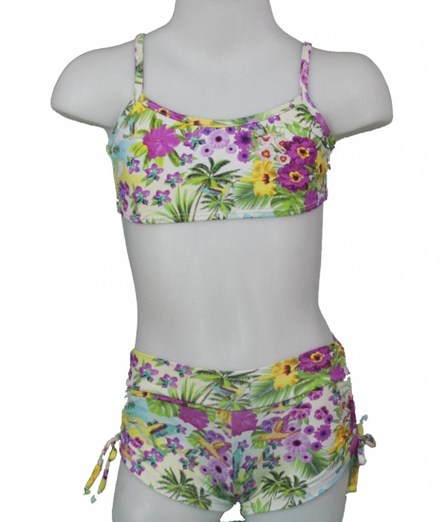 PUALANI KIDS SPORT TOP/DRAWSTRING SHORT SET