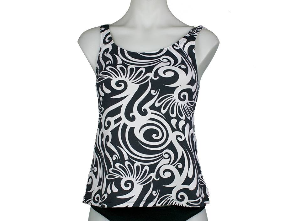 PUALANI SCOOP TANKINI TOP