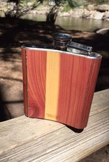 Custom Wooden Flask