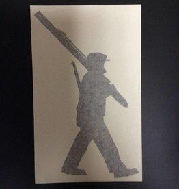 Sticker, Big Soldier, Black