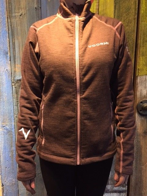 Voormi Jacket-Womens Merlot