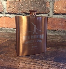 Copper Plated Stainless Steel Flask