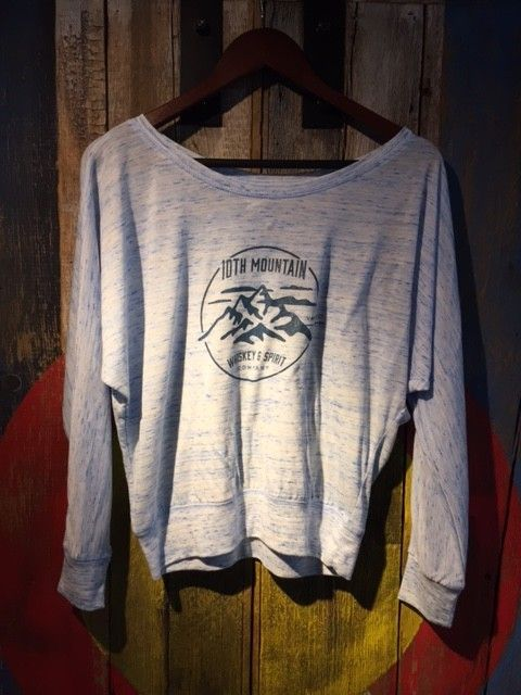 10th Mountain Scoop Neck - Womens