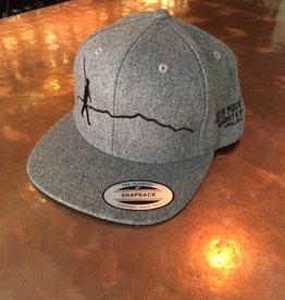 Hat Grey Walking Man
