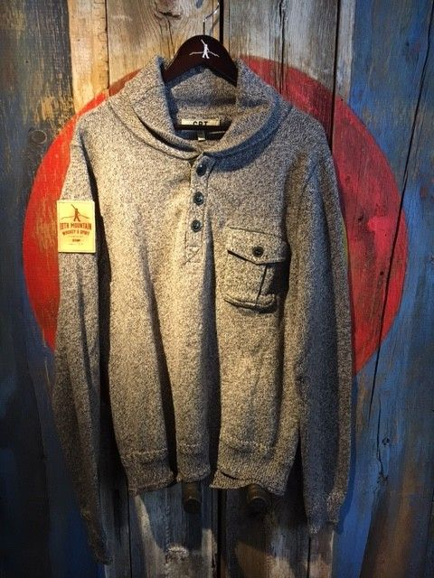 Cockpit USA Pullover Grey XL