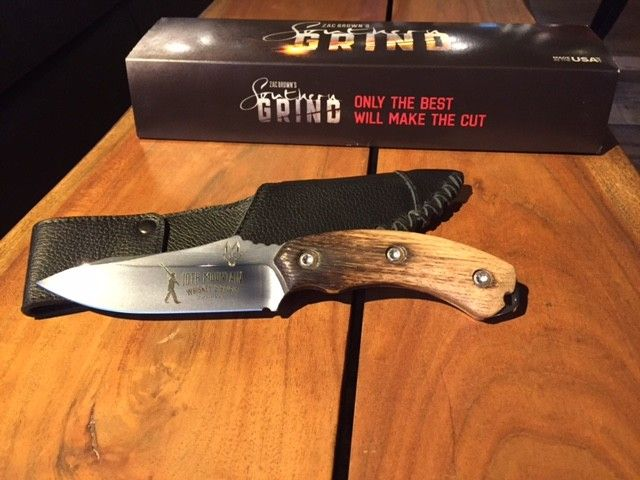 Zac Brown Custom Jackel Hunting Knife