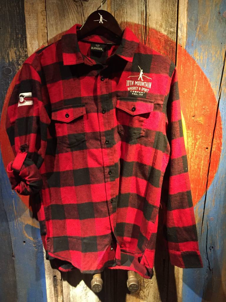 Flannel - Red Men's Med