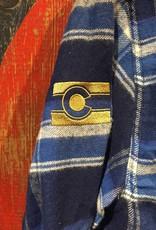 Flannel - Blue Men's Small