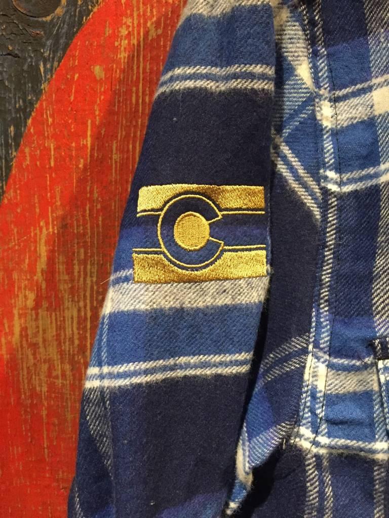 Flannel - Blue Men's Large
