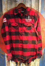 Flannel - Red Women's Med