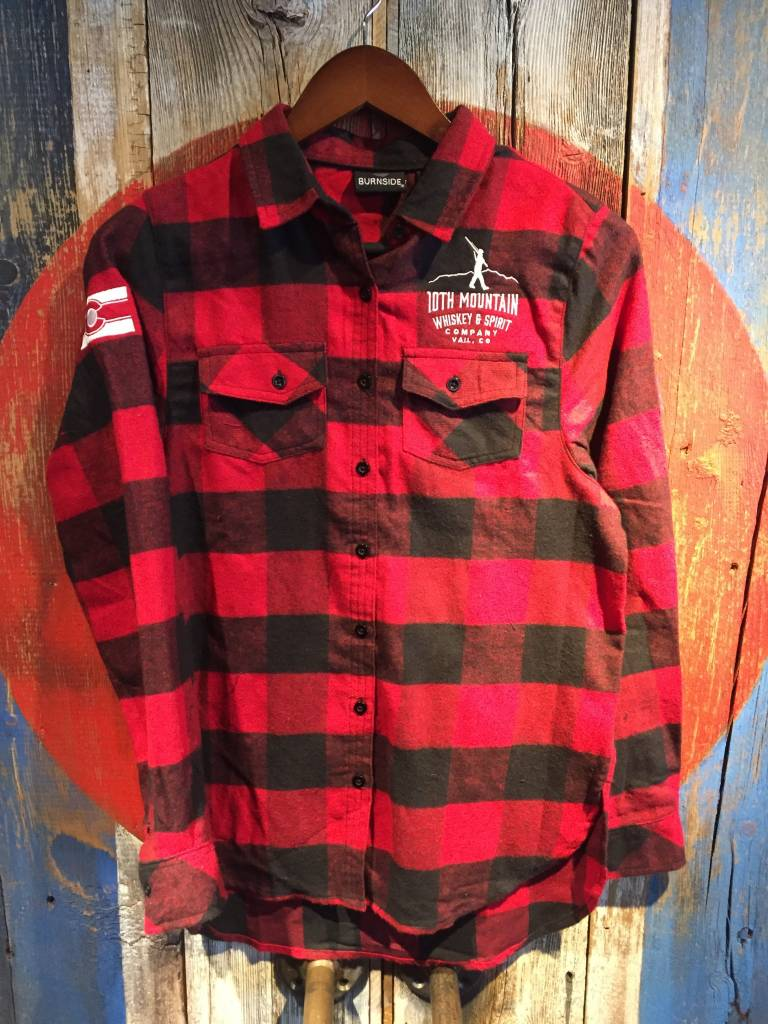 Flannel - Red Women's Small