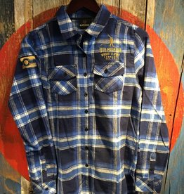 Flannel - Blue Women's Med