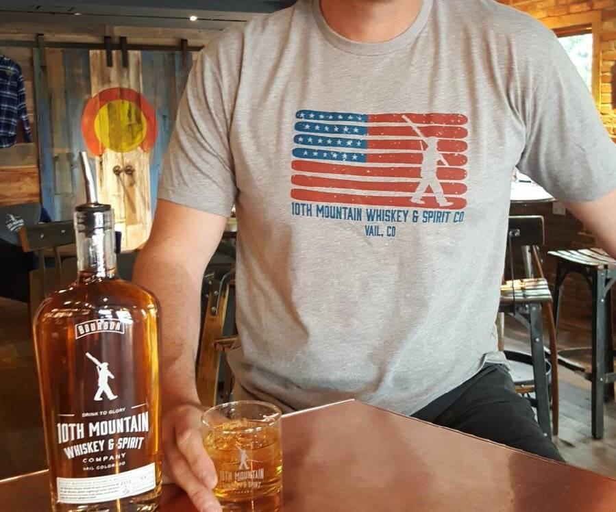 American Flag Tee MED