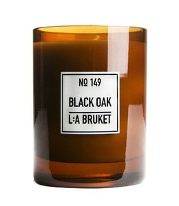 L:A BRUKET LARGE SCENTED CANDLE :  BLACK OAK