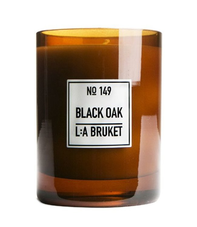 LA BRUKET SCENTED CANDLE   :   BLACK OAK