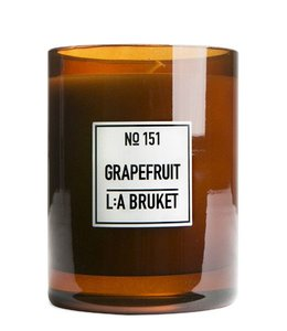 L:A BRUKET LARGE SCENTED CANDLE  :   GRAPEFRUIT