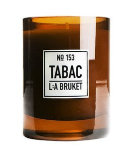 L:A BRUKET  LARGE SCENTED CANDLE :  TABAC
