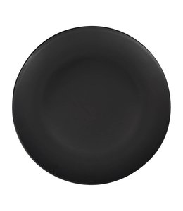 SALAMANCA SALAD PLATES   :   BLACK   :   SET OF 4