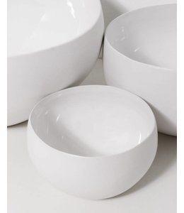 BEYAZ BOWLS   :   WHITE   :   SET OF 3