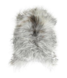 NATURAL ICELANDIC SHEEPSKIN   :   GREY