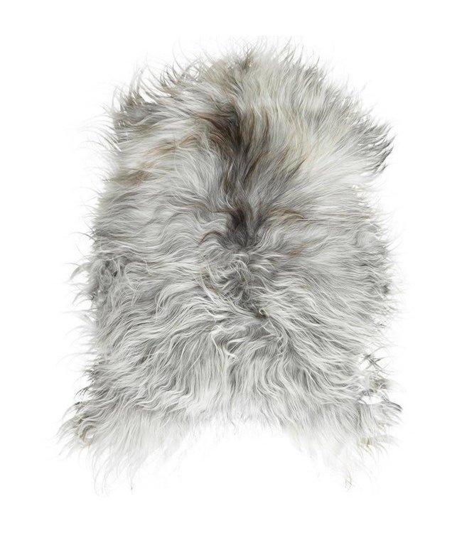 NATURAL ICELANDIC SHEEPSKIN   :   GREY