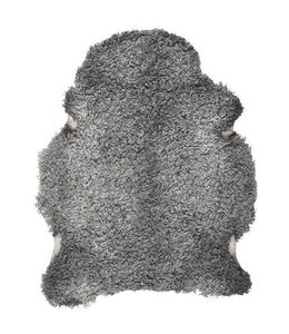 NATURAL GOTLAND SHEEPSKIN : GREY