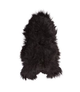 NATURAL ICELANDIC SHEEPSKIN   :  BLACK