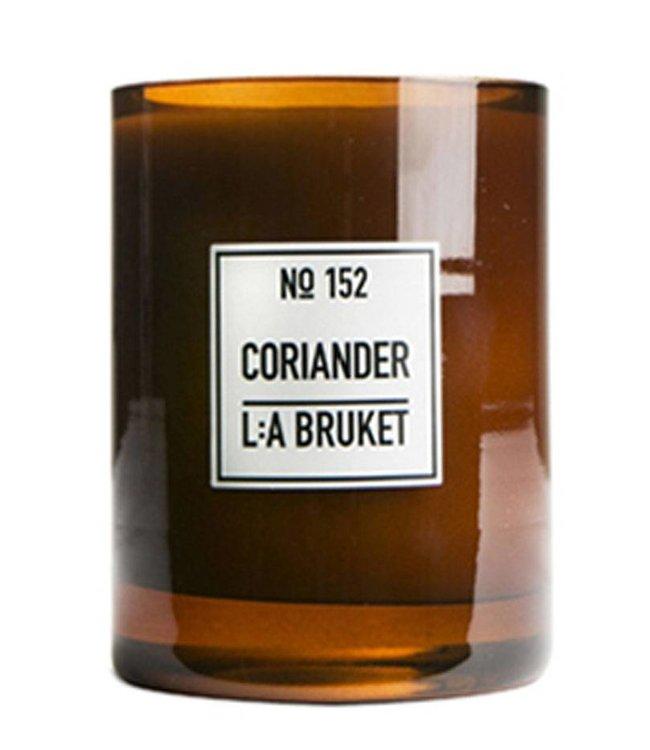 LA BRUKET L:A BRUKET SCENTED CANDLE   :   CORIANDER