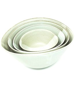 SYLVIA FOLDED STACKING BOWLS