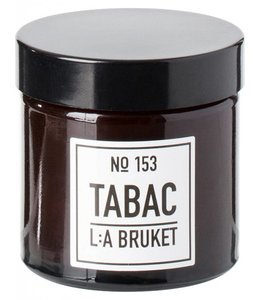 L:A BRUKET SMALL SCENTED CANDLE  :   TABAC