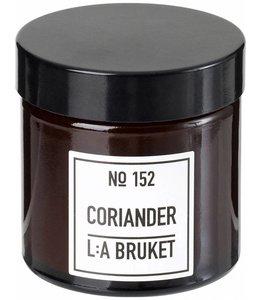 LA BRUKET L:A BRUKET SMALL SCENTED CANDLE   :   CORIANDER